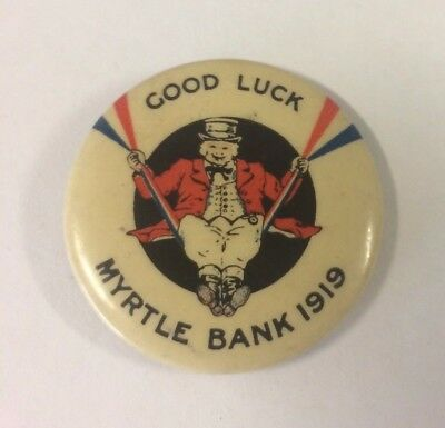 WW1 Good Luck Myrtle Bank 1919 Returned Soldiers Home Adelaide Large Size