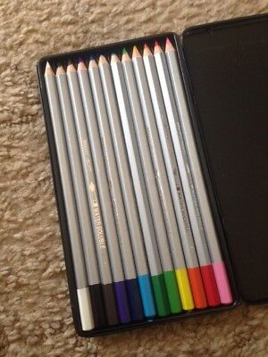 Set Of 12 BRAVO Liberty Watercolour Pencils