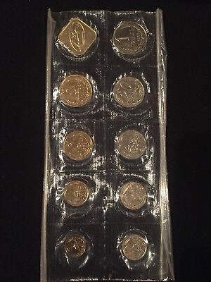 Russia Soviet Union 9 Piece Mint Set 1988 With Medal Sealed