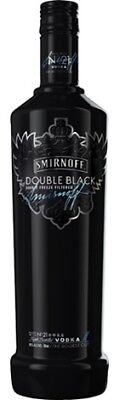 Smirnoff Double Black Vodka 700mL ea - Spirits - Origin Australia