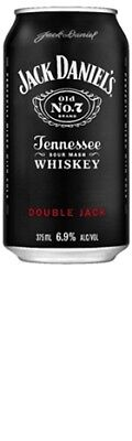 Jack Daniels Double Jack and Cola Can 375mL CTN24 - Spirits - Origin Australia