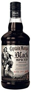 Captain Morgan Black Spiced Rum 700mL ea - Spirits - Origin UNITED KINGDOM