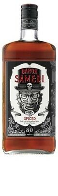 Baron Samedi Dark Spiced Rum 700mL ea - Spirits - Origin United States