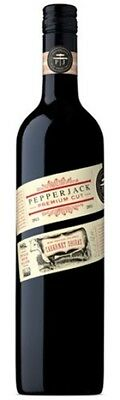 Pepperjack Premium Cut Cabernet Shiraz 750mL ea - Red Wine - Origin Australia