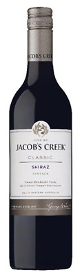 Jacob's Creek Shiraz 750mL ea - Red Wine - Origin Australia