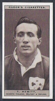 Ogdens-Famous Rugby Players-#14- Queens College Belfast - Hewitt
