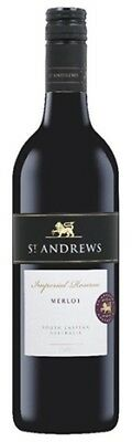 St Andrews Merlot 750mL ea - Red Wine - Origin Australia
