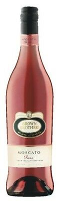 Brown Brothers Moscato Rosa 750mL ea - Red Wine - Origin Australia