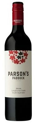 Parson's Paddock Shiraz 750mL ea - Red Wine - Origin Australia