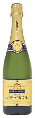 B Francois Brut NV 750mL ea - Sparkling Wine - Origin France
