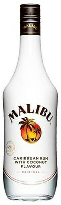 Malibu Caribbean White Rum 700mL ea - Spirits - Origin Barbados