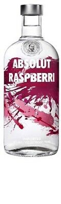 Absolut Raspberri Vodka 700mL ea - Spirits - Origin Sweden