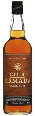 Club Armada Dark Rum 700mL ea - Spirits - Origin TRINIDAD AND TOBAGO