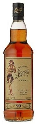 Sailor Jerry Caribbean Rum 700mL ea - Spirits - Origin Scotland