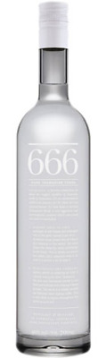 666 Pure Tasmanian Vodka 700mL ea - Spirits - Origin Australia