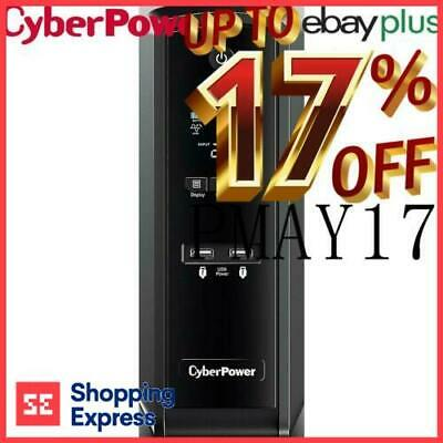 CyberPower PFC Sinewave UPS 1300VA 6 Way Uninterruptible Power Supply Surge