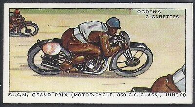 Ogdens-Motor Races 1931-#39- Quality Card!!!