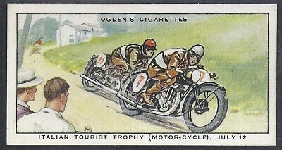 Ogdens-Motor Races 1931-#43- Quality Card!!!
