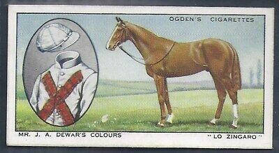 Ogdens-Prominent Racehorses Of 1933-#25- Top Quality Horse Racing Card!!!
