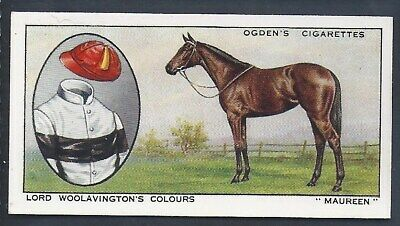 Ogdens-Prominent Racehorses Of 1933-#28- Top Quality Horse Racing Card!!!