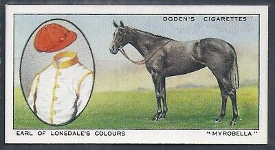 Ogdens-Prominent Racehorses Of 1933-#35- Top Quality Horse Racing Card!!!