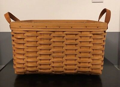 2000 Longaberger Hostess Small Wash Day Basket With Protector #15695 *ships Free