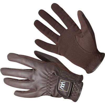 Woof Wear Synthetic Unisex Gloves Competition Glove - Brown All Sizes