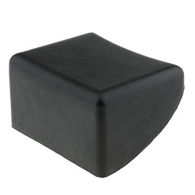 Negro PU Shampoo Bowl Neck Rest Rest Durable Hair Beauty Lavado Spa Salon