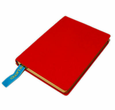 Polo Ralph Lauren Hardcover Canvas Lined Notebook Journal Diary Book Red Gold