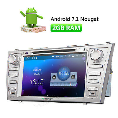 """8""""Android 7.1 Car Stereo DVD For Toyota Aurion Navigation 2007 2011 2GB RAM DAB+"""