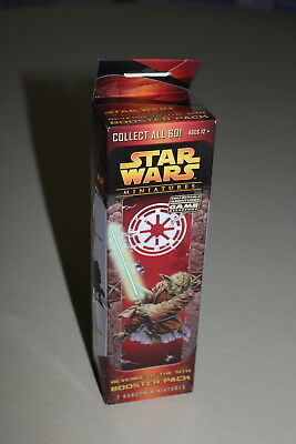 STAR WARS EPISODE III 3 REVENGE OF THE SITH MINIATURES booster pack new