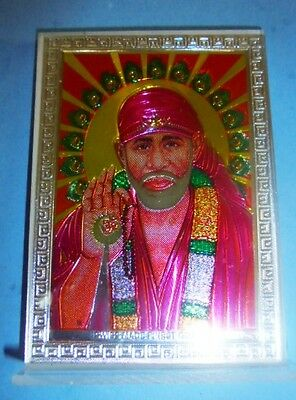 Sai Baba Shirde Statue Hindu God Religious Office Temple Car puja POOJA