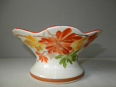 Lovely S Hancock & Sons Corona Ware Hand Painted Bowl Excellent Condition