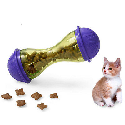 Pet Feeder Cat Food Toy Treats Dispensing Toys Mental Stimulation for Cats Qute