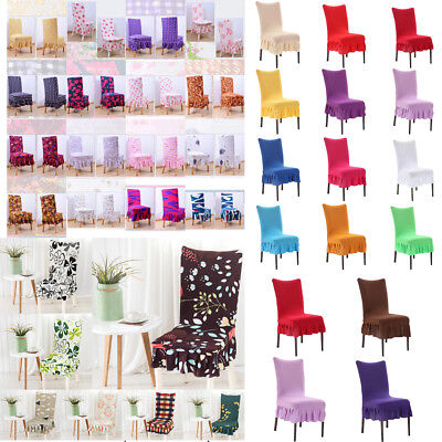 Seat Covers Kitchen Dining Bar Chair Covers Slipcovers Wedding Banquet Decors