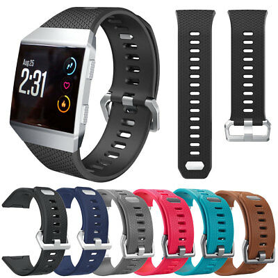 Replacement Rubber Strap Clasp Wrist Band Bracelet For Fitbit Ionic Sports Watch