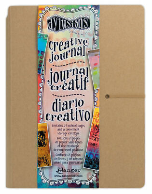 "Dylusions Creative Journal - Large - 11 13/16"" x 9"" - FAST 'N FREE"