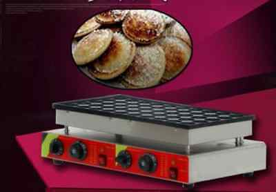 New 50pcs 110v 220v Electric Dutch Pancakes Poffertjes Maker Machine Baker m