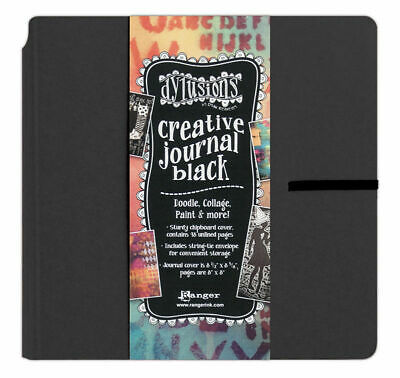"""Dylusions Creative Journal - Square - 8"""" x 8"""" - FAST 'N FREE"""