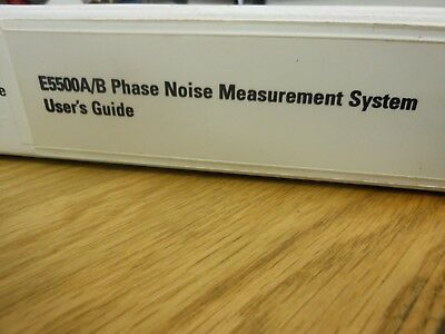 HP/Agilent E5500A/B Phase Noise Measurement System Users Guide Loc: 537