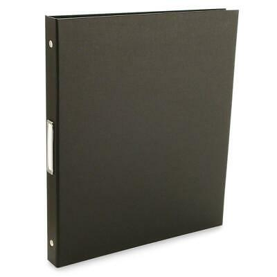 Pina Zangaro Bex 3 Ring Presentation Binder 1/2in Black #36407