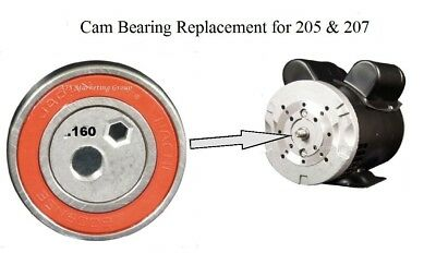 Carpet Cleaning - PumpTec CAM BEARING replacement Kit for 205, 207 Pumps