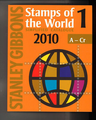 STANLEY GIBBONS STAMPS OF THE WORLD SIMPLIFIED CATALOGUE 2010 5 Volumes pbk