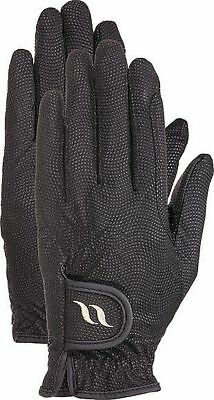 Back on track riding gloves black Welltex Thermohandschuhe