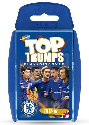 Top Trumps Chelsea Football Club Fc 2017/18 Card Game Brand New