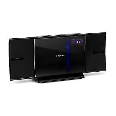 luxus vertikal hifi wand stereo anlage cd player usb sd mp3 bluetooth ukw radio picclick de. Black Bedroom Furniture Sets. Home Design Ideas