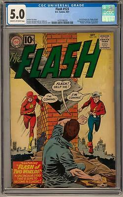 Flash #123 CGC 5.0 (C-OW) *1418188009* 1st GA Flash In SA