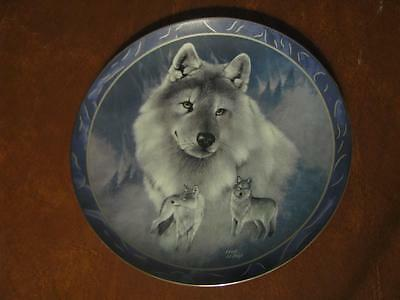 """Bradford Exchange 1994 """"Silver Scout"""" Collective Plate by Eddie LePage 1st Issue"""