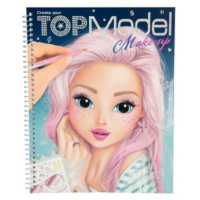 TOPModel Malbuch - Create your TOPModel Make Up