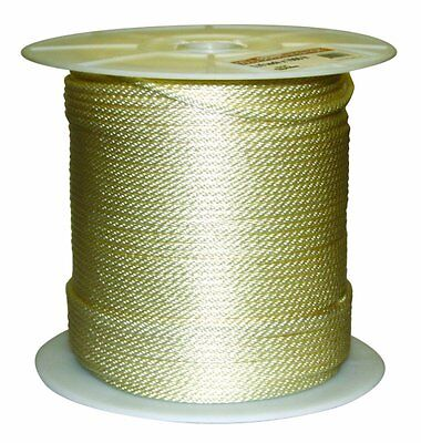 """Nylon Rope Solid Braided Nylon Rope Tree Swing Block Tackle Pulley 1/4""""x1000feet"""